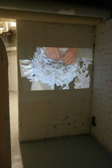 OK11, 1-channel video installation